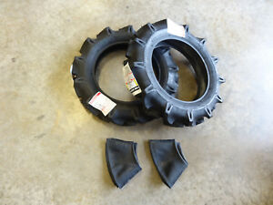 Two New 5 14 Bridgestone Farm Service Lug M Tractor Tires Tubes 344443
