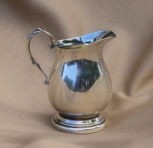 Vintage Solid Sterling Silver Creamer By Poole Pattern 300 108 9 Grams
