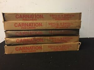 Carnation Bakery Pan Liners Qty 5 Boxes