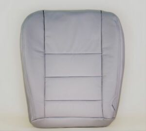 2002 2007 Ford F250 F350 Pickup Drivers Factory Grey Leather Seat Cushion Cover
