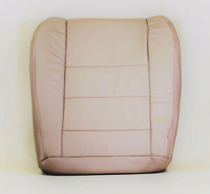 2002 2007 Ford F250 F350 Pickup Drivers Factory Tan Leather Seat Cushion Cover