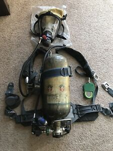 Survivair Panther Hp45 Apparatus scba Mask Compass Pass Doubler And Case