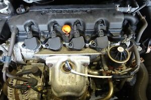 Engine 2007 Honda Civic 1 8l Motor With 76 677 Miles