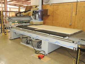 Weeke Optimat Bhp 008 Vantech 510 5 X 10 Cnc Router W Auto Unload
