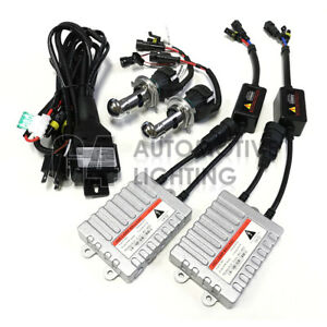Hid Bi xenon H4 9003 Hi lo 55w Ac Ballast Digital Headlight Kit 4k 6k 8k 10k 12k