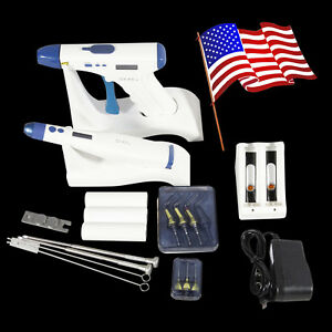 Usa Dental Endo Obturation System Cordless Gutta Percha Gun Pen Bars Wr