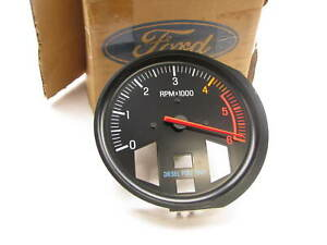 New Genuine E6tz 17360 B Tachometer Gauge 86 88 Ford Light Truck Diesel 6000 Rpm