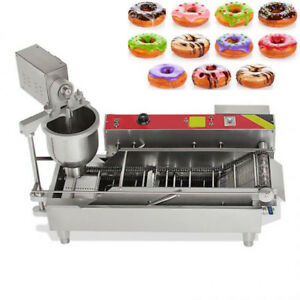 Donutghnut Machine Maker Auto Electric Stainless Steel Commercial Coffee Shop