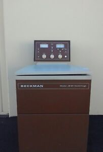 Beckman J2 21 Centrifuge Cleaned And Tested