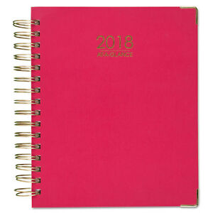 At a glance Harmony Weekly Monthly Hardcover Planners 8 1 2 X 11 Pink 609990527