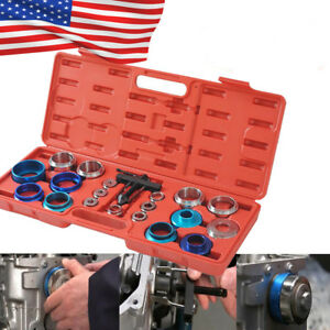 Universal Camshaft Bearing Remover Installer Tool Set Crank Seal Removal Car Usa