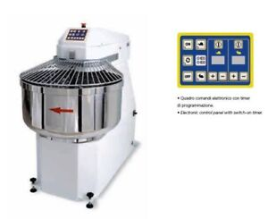 Spiral Dough Mixer 135 Lt 143 Qt 90 Kg 200lbs Made In Italy