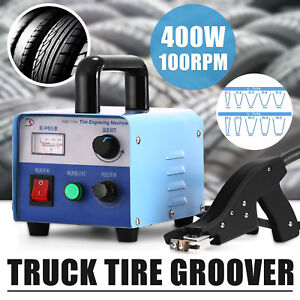 400w 100rpm Truck Tire Groover Grooving Iron W blades Truck sprint Car