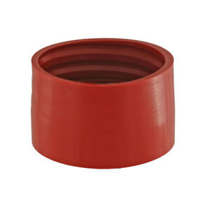 Spectre 97512 Red Performance Cold Air Intake Hose Duct Boot 4 Inlet Diameter