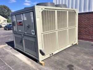 2012 Trane Cgam 40 Ton Air Cooled Chiller 230 Volt Low Temp Low Ambient Clean