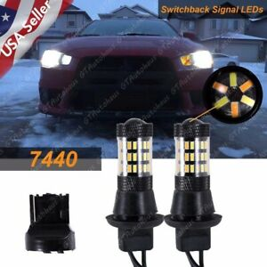 Switchback White amber Led Kit Turn Signal Lights Or Drl For Lancer Evo X 08