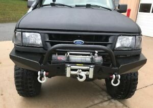 Elite Ford Ranger Modular Front Winch Bumper With Bull Bar 1993 1997