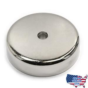 Cms Magnetics 405 Lb Pull Force Super Powerful Neodymium Cup Magnet 0 7 Thick