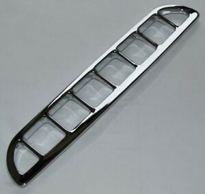 Mg New Chrome Air Intake Vent Grille Fasteners Mg Mgb Mgbgt 1963 1980