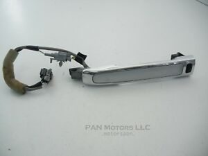 Infiniti M35 M45 Left Right Front Driver Door Exterior Handle Keyless Silver