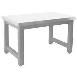 Benchpro H Stainless Steel 24 d X 60 w Production Table Industrial Workbenches