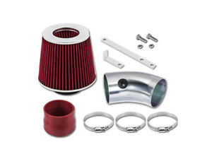 For 91 93 Oldsmobile Cutlass Supreme Gsp Red Short Ram Air Intake Kit Filter