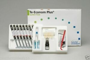 Ivoclar Vivadent Te Econom Plus System Pack Dental Resin Composite Free Shipping