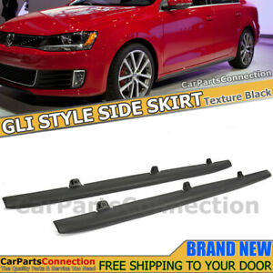 Gli Style Side Skirts Rocker Panel Moulding For Vw Jetta Mk6 11 18 All Model