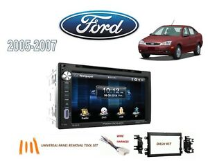 2005 2007 Ford Focus Ddin Stereo Kit Bluetooth Usb Touchscreen Dvd