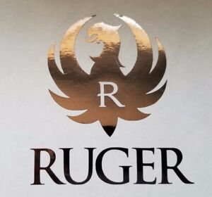 Ruger Seal Decal Sticker Hand Gun Rifle For Auto Black Chrome Other Colors
