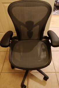 Herman Miller Aeron Chair Remastered New Size A small Fully Adjustable