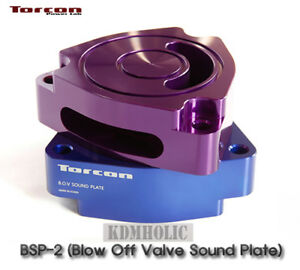 Torcon Blow Off Valve Sound Plate For Hyundai Veloster Turbo