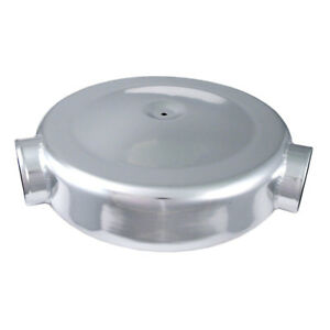 Spectre 9866 Air Cleaner Air Box 130 Degree Dual Intake Inlets