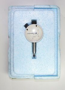 Tesa Swiss Made Precision Dial Indicator Range 0 3mm Graduation 0 01mm