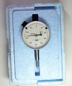 Tesa Swiss Made Precision Dial Indicator Range 0 10 Mm Graduation 0 01 Mm