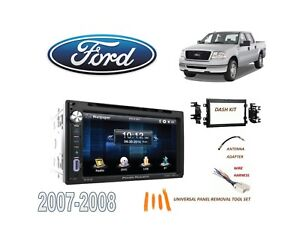 2007 2008 Ford F150 Pickup Stereo Kit Bluetooth Usb Touchscreen Dvd