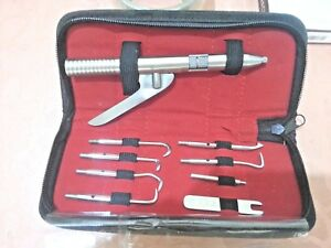 Automatic Single Handed Crown Remover Dental Surgical Instruments Kit Pouch Pack