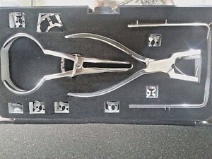 New Rubber Dam Starter Kit With Frame Punch Clamps Dental Instruments