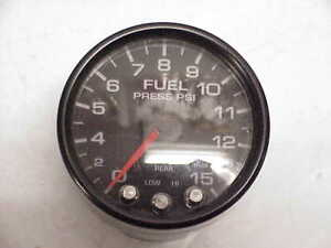 Pro Parts Spek 2 1 16 0 15 Psi Fuel Pressure Gauge Black Jh20 Nascar