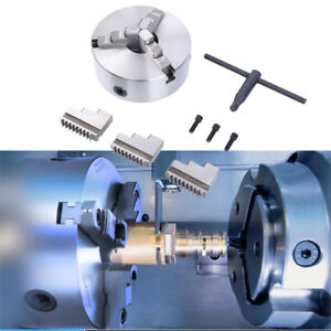 8 3 jaw Self centering Chuck Lathe Milling Internal External Grinding Machine