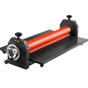 29 5 Cold Laminator Machine Mounting Adhensive Soft Rubber 4 Roller Manual