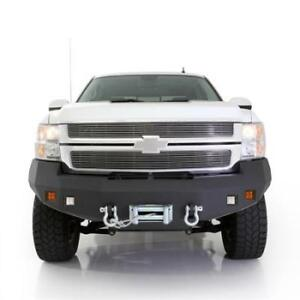 Smittybilt M 1 Front Bumper W Fog Lights 2008 2010 For Chevy Silverado 2500 3500
