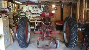 1956 Farmall 230 Tractor With Fasthitch