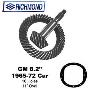 Richmond Gear 490015 Ring Pinion 3 55 Gm 10 Bolt 8 20 Ring