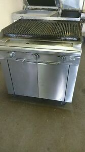 Blodgett 36 Commercial Stainless Steel Charbroiler Char Broil Grill Natural Gas