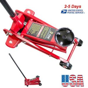 From Us 3 Ton 6000lbs Floor Jack Steel Low Profile Quick Pump Lifting Car Garage