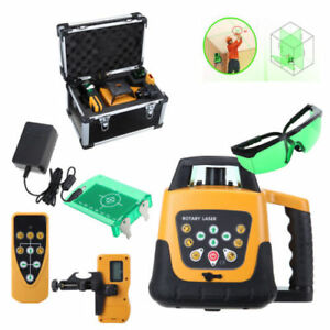 Self leveling Construction Rotary rotating Green Beam Laser Level 500m