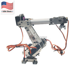 Doarm 6dof Industrial Mechanical Robot Arm Aluminum Metal Robotic Diy Us