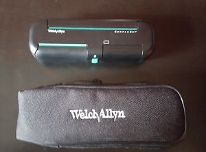 Welch Allyn 74001 Compacset Folding Diagnostic Set Ophthalmoscope Otoscope