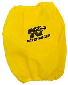 K N Rc 5102dy Drycharger Protective Air Filter Wrap Yellow
